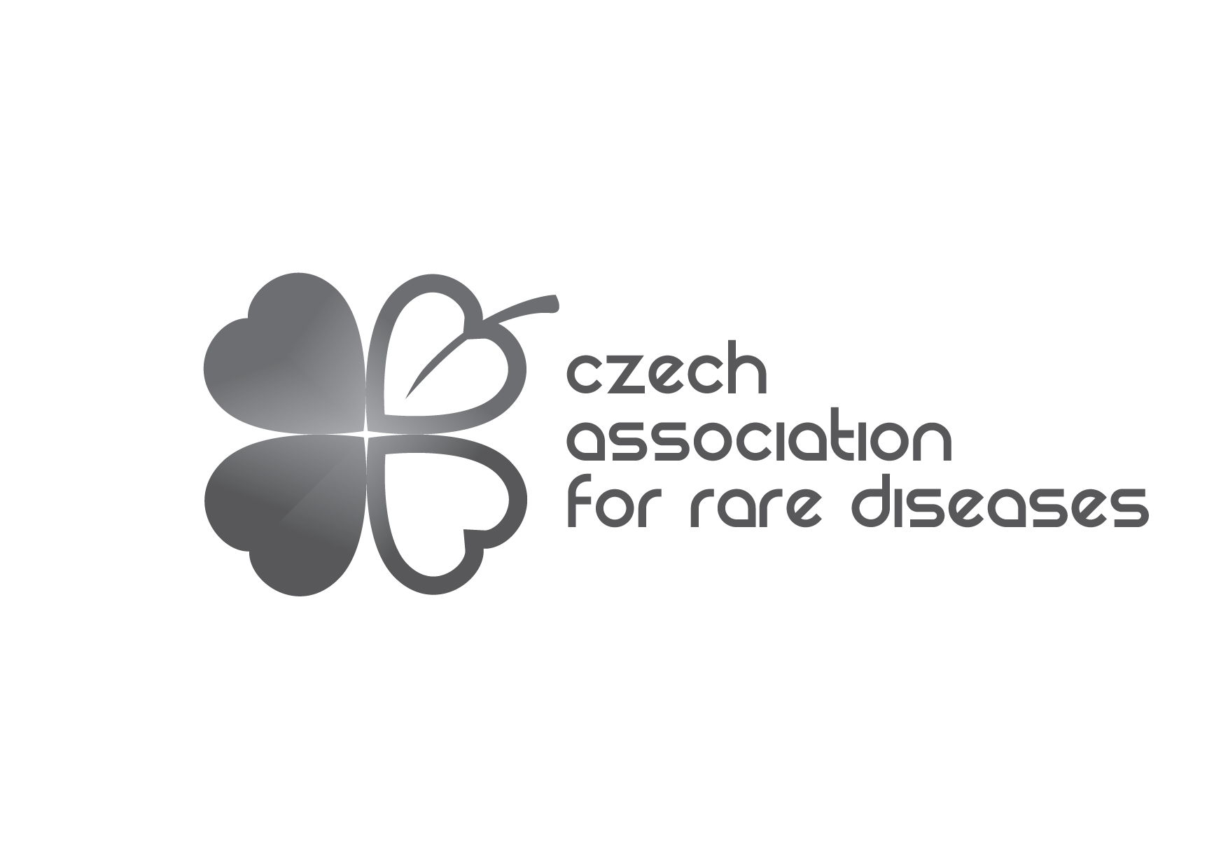 czech association for rare diseases LOGO BW